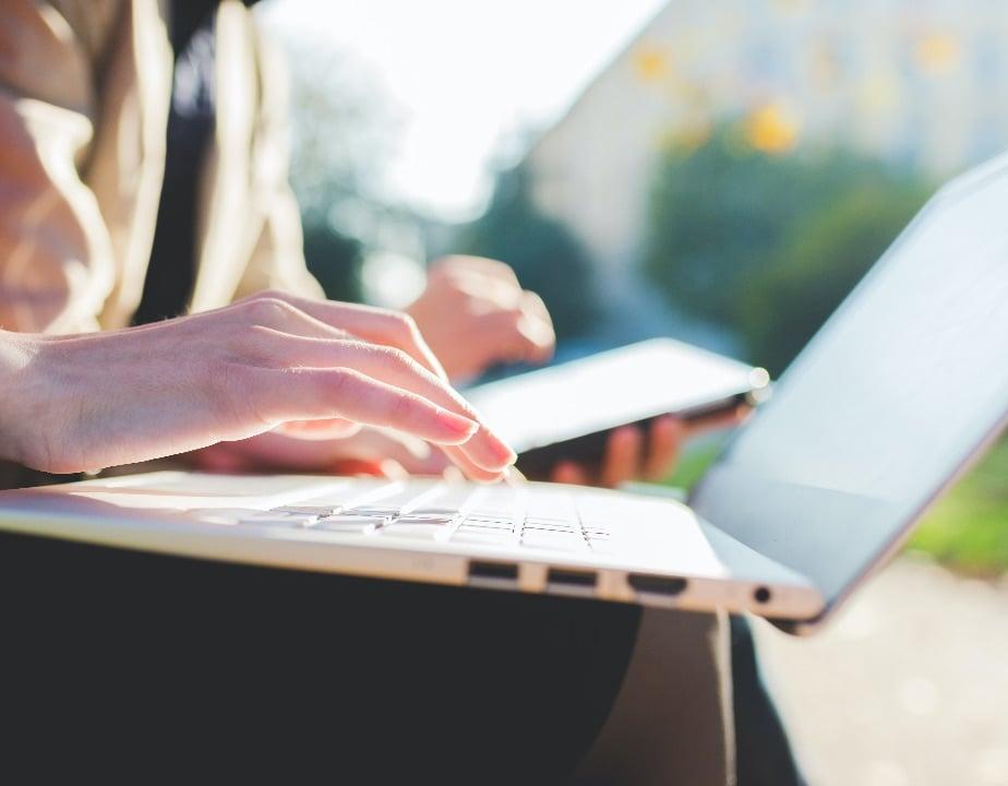 laptop usage