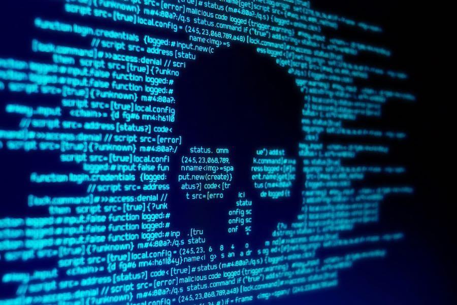skull computer code